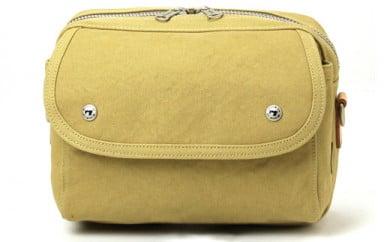 横型ショルダーバッグ 豊岡鞄 Stitch-on RUDE 52221(ブラック、ベージュ)
