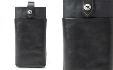ウォレットポーチ 豊岡製かばん Stitch-on 52029(ブラック、ワイン、ネイビー)