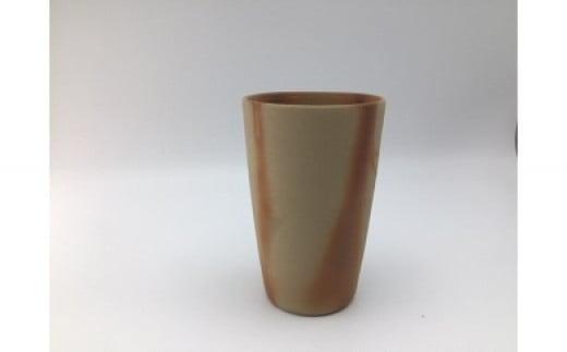 0005-I-022 備前焼 ビアカップ(フリーカップ)