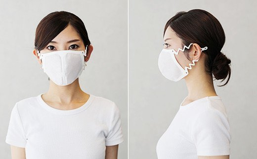 KOMORI FIT 洗って使える 立体構造 マスク 日本製 10枚入り