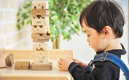 水俣市産ヒノキ IKONIH 知育セット 木製 おもちゃ 知育玩具