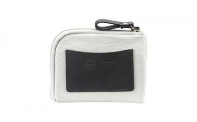 豊岡鞄 TUTUMU mini Wallet (S3300 24-181)キナリ・ネイビー・カーキ・グレー