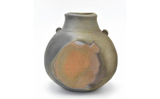 1170-I-001 岡山県重要無形文化財保持者 吉本 正 作 扁壷