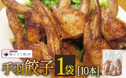 36-137_【綾ぶどう豚使用】手羽餃子10本