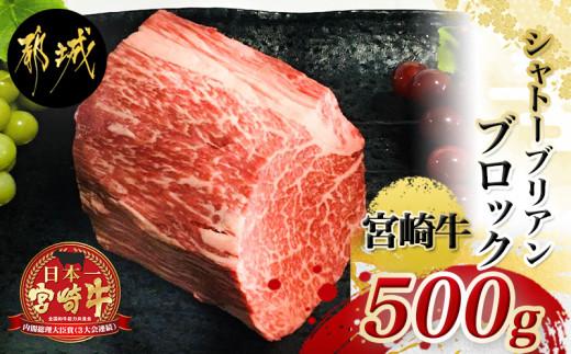 宮崎牛シャトーブリアンブロック500g_AE-2502