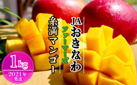 【2021年発送】JAおきなわファーマーズ 糸満マンゴー 1kg