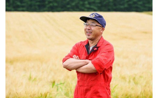士幌町の大麦生産者