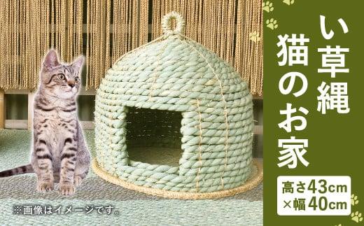 い草縄 猫のお家