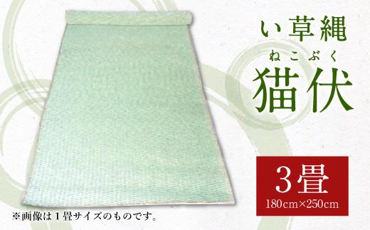 い草縄 猫伏(3畳)1,800mm×2,500mm