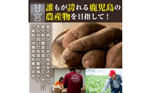 鹿児島から日本の食卓を活性化し鹿児島の農業を盛り上げていきたい!