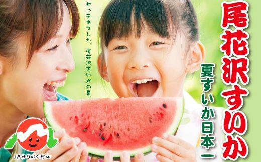 7月~8月の東京市場での取扱数量の約39%が尾花沢すいかです。