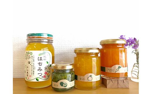 蜂蜜テーブルセット