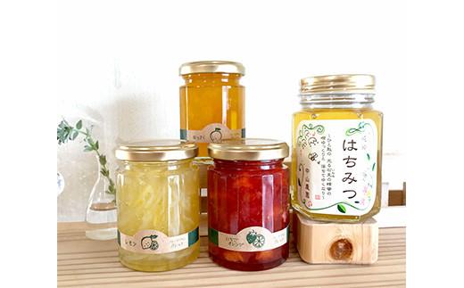 季節のジャム&蜂蜜セット