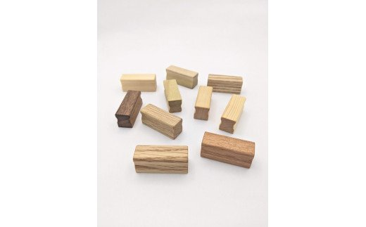 木製マグネット