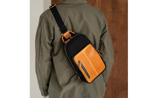 ボディバッグ 豊岡鞄 2302 ブラック