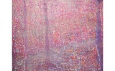風景、花、植物などをアクリル絵の具で描く絵画作品/30号
