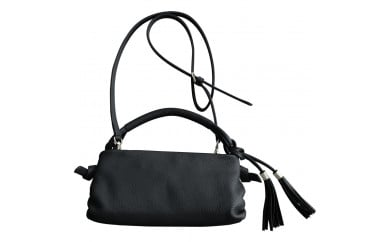 豊岡鞄 loopウォレットショルダーバッグNU04-106N(ブラック・アイボリー・スカイブルー・グレージュ・レッド)