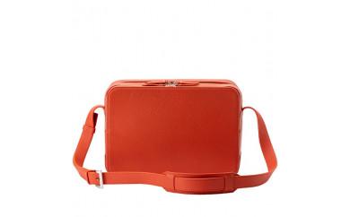 豊岡鞄 トラベルショルダーM 撥水レザー(ネイビー・オレンジ・カーキ)