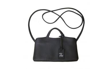 豊岡鞄ottorossiORY003ウォレットバッグ(ブラック・トープ・ネイビー)