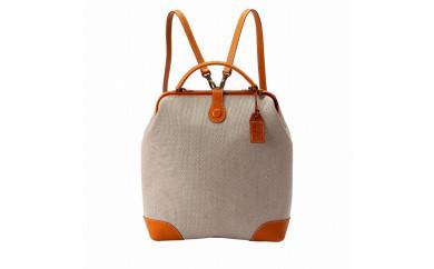 豊岡鞄parcel cotoneダレスリュックNU56-102(ベージュ)