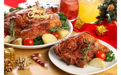 【期間限定】クリスマスに!焼肉屋さんのローストチキンレッグ