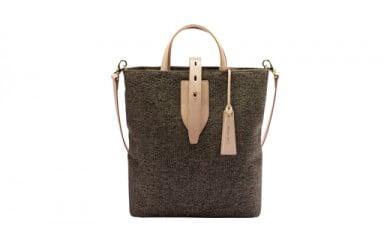 トートバッグ 豊岡鞄 blissトート NU55-102(ブラック・ベージュ)