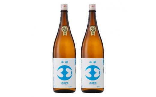 [№5762-0656]【金賞受賞酒・一般販売なし・ふるさと納税限定版】吟醸玉風味1,800mlの2本セット