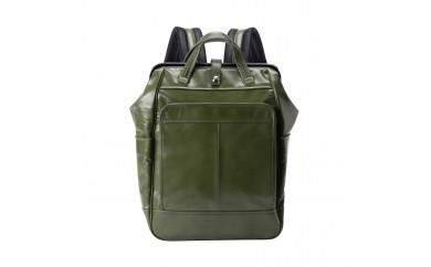 豊岡鞄 ダレスリュック FW01-101(グリーン・レッド)