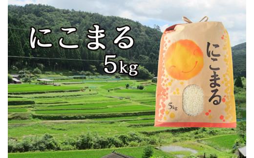 Bti-09 【令和2年産】仁井田米「にこまる」 5kg