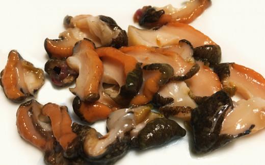 新鮮なサザエの、おススメの食べ方 その2『刺身』