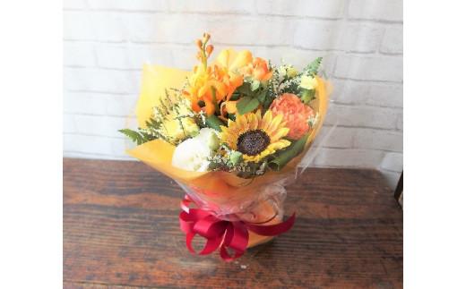 【花瓶・水替えいらず】 季節のスタンディングブーケ