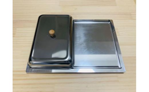 お手軽アルミ製 グリルプレート(A4サイズ)LEKKER[040K01]