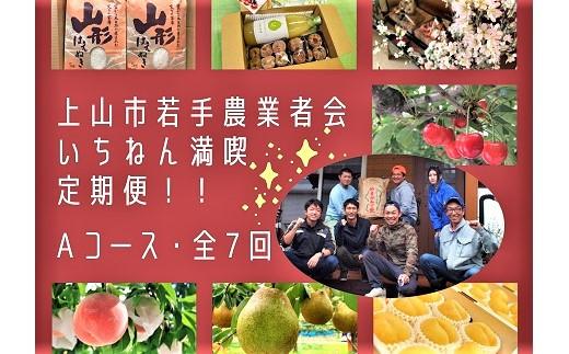 0118-2101 【定期便:全7回】若手農業者会プレミアムAコース(フルーツ・米・桜)
