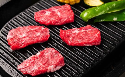 山形村短角牛「上カルビ」「赤身手切りカルビ」「バラスライス」「赤身スライス」セット