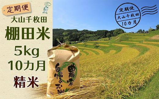 恵まれた自然の中で育ったミネラル豊富な棚田米を10カ月間お届けします🌾