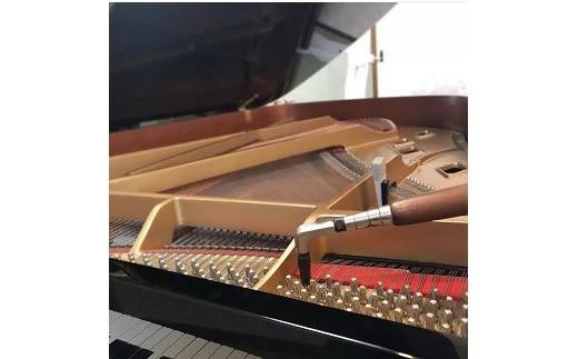 アップライト、グランドピアノ共通ピアノ1台調律チケットをお送りいたします。