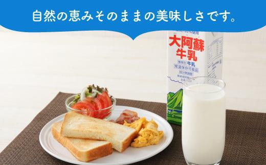 【6ヶ月定期便】らくのうマザーズ 大阿蘇 牛乳 3.6% 1L×6本