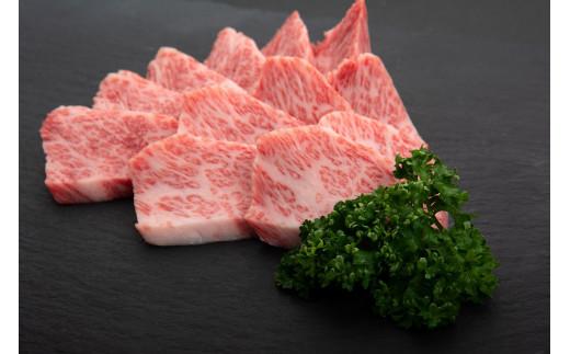鹿児島県産黒毛和牛カルビ焼肉用〈約600g〉ニコニコエール品