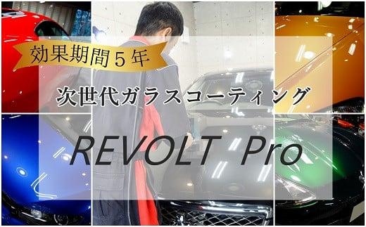 W-1 【ガラスコーティングのリボルト埼玉北】効果が5年持続するコーティング施工