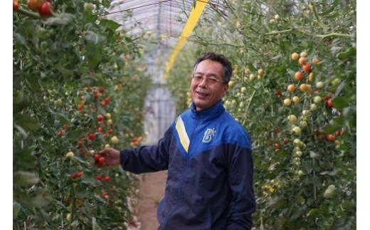 小松市の「竹本農園」さんのおどろくほど甘い完熟フルーツトマトを使っています。