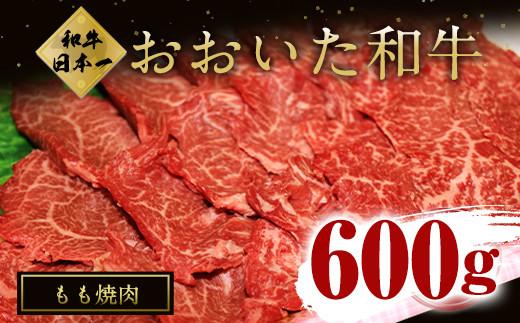 大分県竹田市産 おおいた和牛 もも 300g×2P 計600g 焼肉用