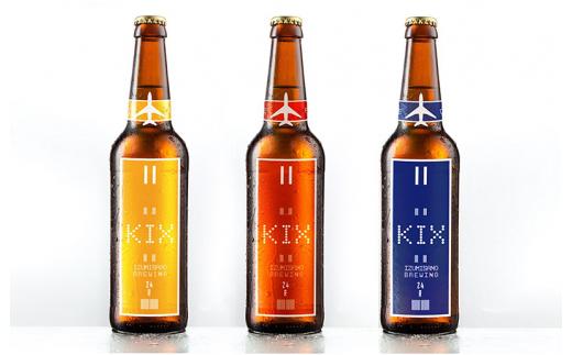 010B185 KIX BEER(3種6本セット)