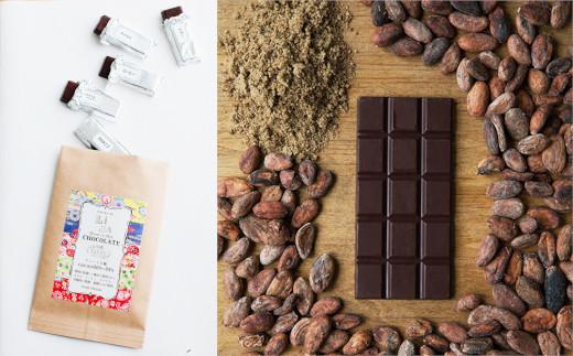 原料にこだわり、手間暇惜しまず、一枚一枚丁寧に仕上げた希少なチョコレート