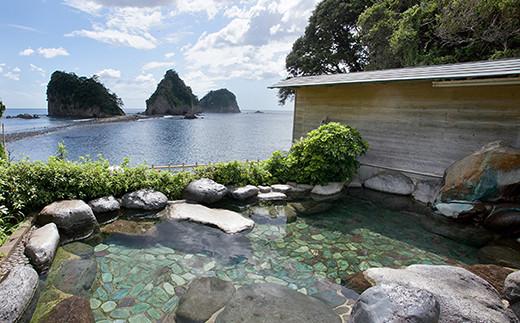土日限定「堂ヶ島温泉ホテル」2名様宿泊券「海の見えるお部屋」