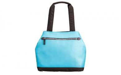 豊岡鞄 カラフルアイトート(24-417) ターコイズ