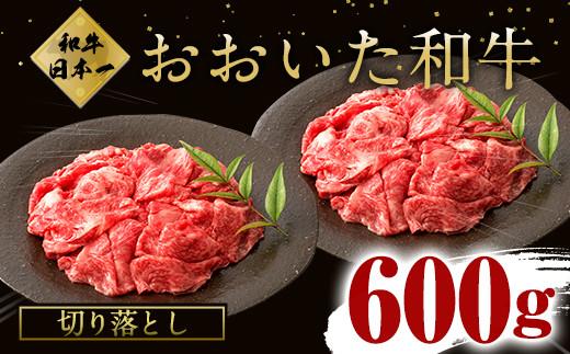 大分県竹田市産 おおいた和牛 切り落とし 300g×2P 計600g