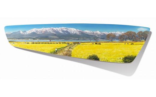 【限定】市制施行50周年記念 ブライアン・ウィリアムズ氏 作 守山市の風景「雪の華」
