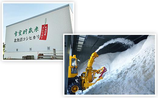 北魚沼産コシヒカリ特別栽培米5kg(長岡川口地域)+無洗米300g×3袋【期間限定増量】