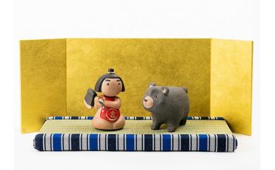 信楽焼 五月人形 いわい 五月人形 金太郎 iwai-k04