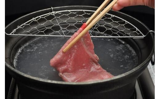 すき焼き調理例